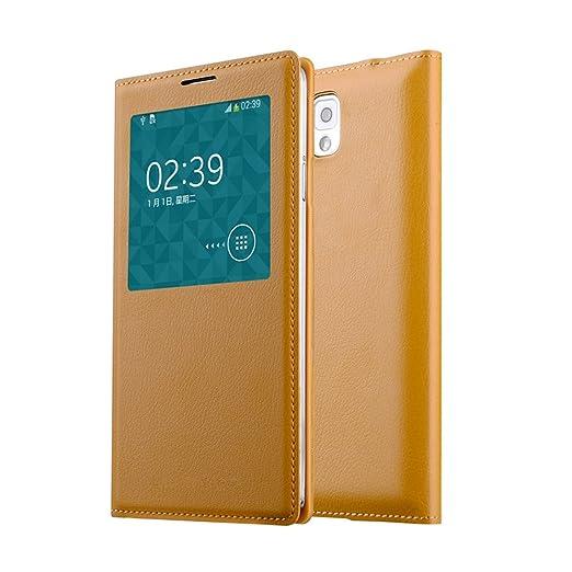 10 opinioni per OFT Custodia/Cover/Filp Case per Samsung Galaxy Note 3,con finestra, per