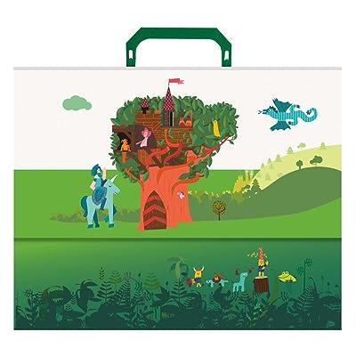 Edima School Kits - Maletín, diseño Castillo en el Árbol: Oficina y papelería