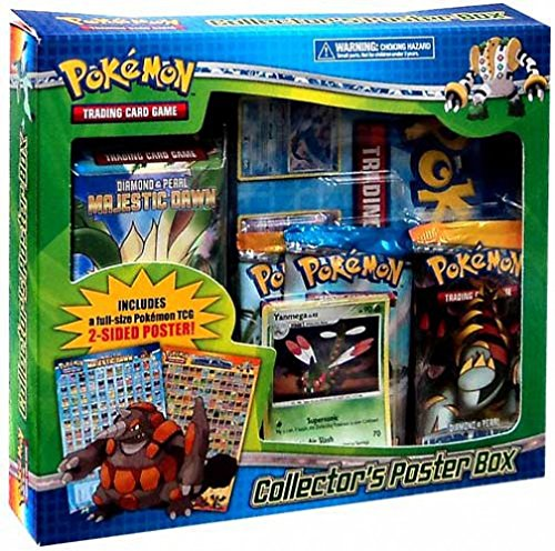 - Pokemon Collector's Poster Box