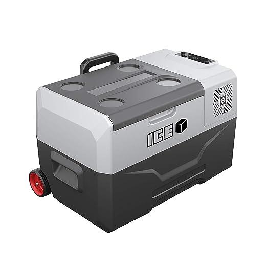 JHDUID Refrigerador portátil de 30 litros Refrigerador congelador ...