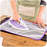 Motop Ironing Blanket Ironing Mat, Portable See-Through Travel Ironing Pad,Ironing Board Replacement, Iron Board Alternative for Cover Table Top 58cm39.5cm/2316,Washer Dryer Heat Resistant Pad
