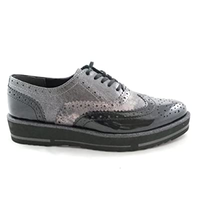Marco Tozzi Casual lace-ups - pewter