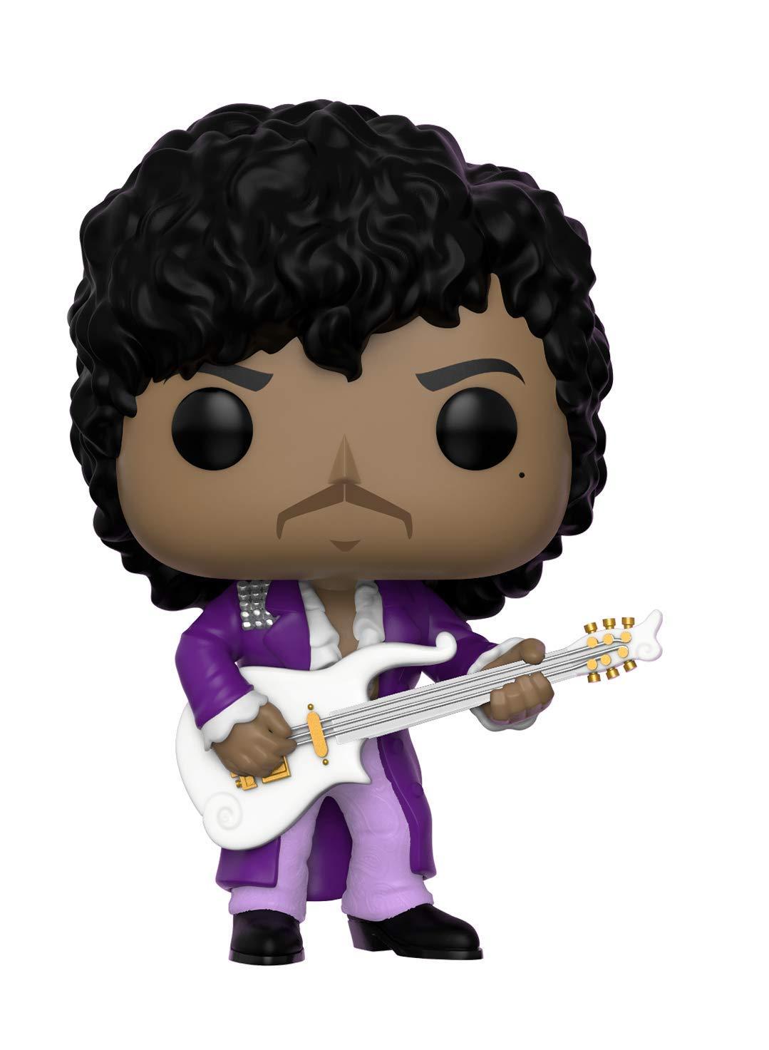 Funko Pop Rocks: Prince - Purple Rain Collectible Figure, Multicolor 32222