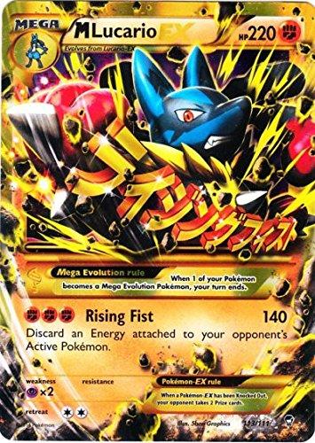 Pokemon - Mega-Lucario-EX (113/111) - XY Furious Fists - Holo