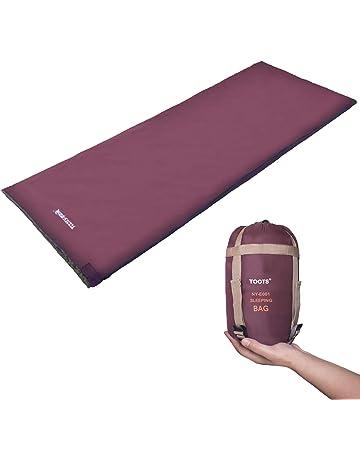 Toots Compacto Saco de Dormir, Impermeable y Ultraligero, para 8-15 Grados Primavera