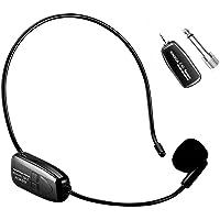 XIAOKOA 2.4G micrófono inalámbrico, la transmisión inalámbrica estable 40m,auriculares y de mano 2 en 1,para el…