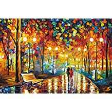 Ingooood Rainy Night Walk paper puzzle 1000 pieces gray card jigsaw puzzle adults kids' 10000 piece puzzle