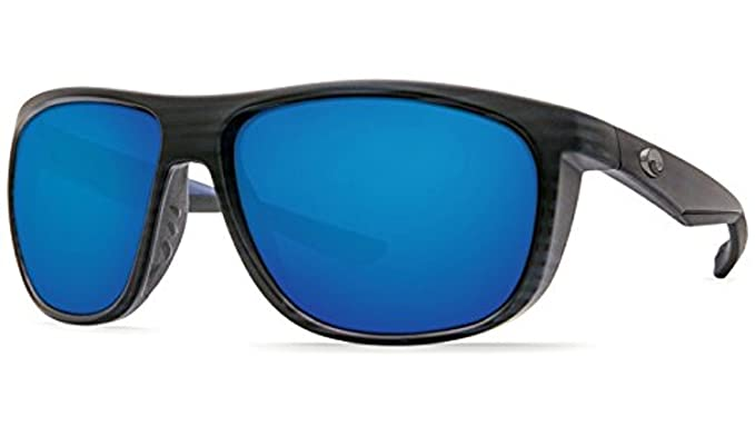ff2ce7fa6ef Costa Kiwa Sunglasses Matte Black Teak Blue Mirror 580G   Cleaning Kit  Bundle
