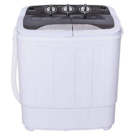 BeUniqueToday 8 libras compacto Mini Twin tina lavadora lavadora ...
