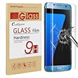 Galaxy S7 Edge Screen Protector,Galaxy S7 Edge Tempered Glass,Coddycase Galaxy S7 Edge Full Coverage HD Clear Tempered Glass Screen Protector for Samsung Galaxy S7 Edge,1 Pack