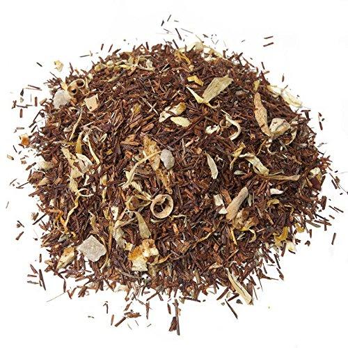 Aromas de Te - Te Infusion Rooibos - Con Pina, Azahar, Calendula, Tomillo, Limon y Naranja - Rica en Vitamina C - Ideal para el Proceso Catarral - Adelgazante - 100 gr