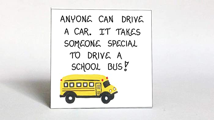 Amazon Com Bus Driver Gift Magnet Schoolbus Operator Thank You