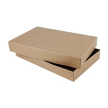 Amazon.com RUSPEPA Shirt Cardboard Gift Box - Decorative Gift Boxes Bulk for Clothes - 15 x 9.5 x 2 - 10 Full Pack - Kraft Health u0026 Personal Care  sc 1 st  Amazon.com & Amazon.com: RUSPEPA Shirt Cardboard Gift Box - Decorative Gift Boxes ...