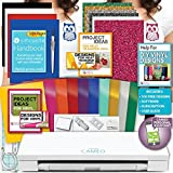 Silhouette Cameo 3 Machine Bundle Siser Glitter Heat Transfer Vinyl, HTV + Designs, Oracal Adhesive Vinyl + Designs, Tools
