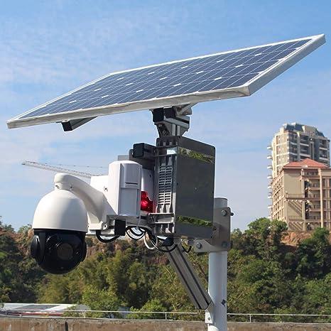 GOING tech - Cámara de Seguridad inalámbrica con WiFi (conexión Solar, 3G, 4G