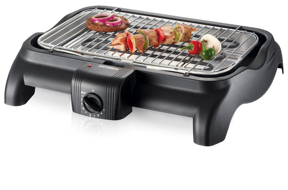 Severin Elektrogrill Zubehör : Severin pg 1511 barbecue grill 2.300w tischgrill grillfläche 37