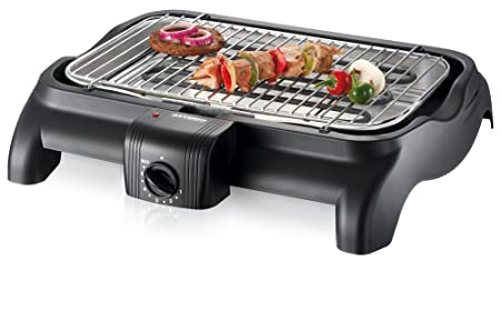 Severin Elektrogrill Aluschale : Severin pg barbecue grill w tischgrill grillfläche
