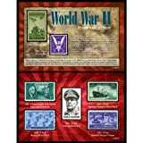 American Coin Treasures World War II Stamp Collection