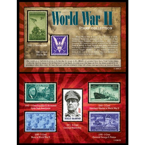 American Coin Treasures World War II Stamp (Global Coin Set)