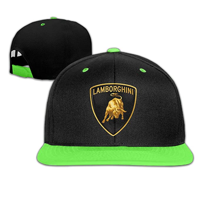 OHYEYE Kids Lamborghini Logo Adjustable Snapback Caps Hip-hop Baseball Hat  For Kids  Amazon.ca  Clothing   Accessories 7f6c6ade32e