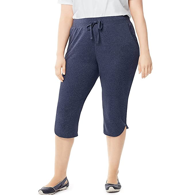 3f4da1105a6b Image Unavailable. Image not available for. Color: Just My Size Women's Plus -Size French Terry ...