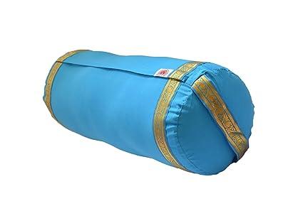 Amazon.com : Yoga Bolster - Sky Blue : Sports & Outdoors