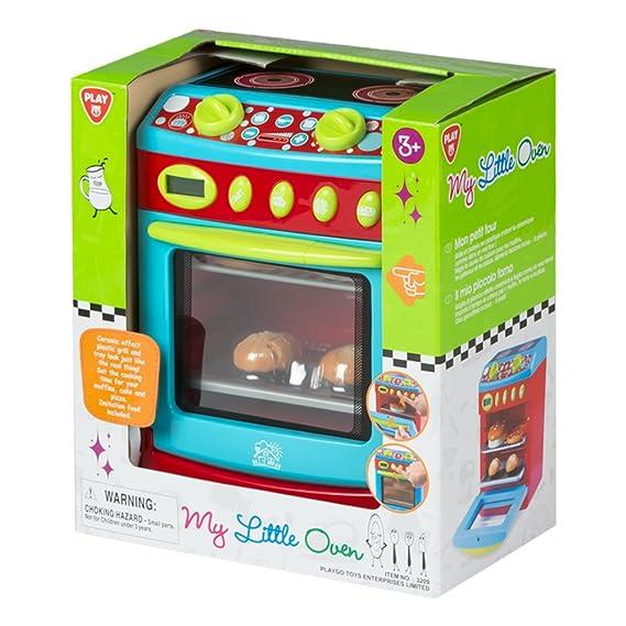 PlayGo Horno eléctrico con Accesorios (Color Baby 44583): Amazon.es: Juguetes y juegos