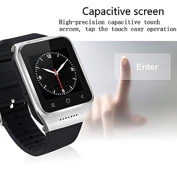 ZGPAX S8 Reloj Inteligente Bluetooth MTK6572 teléfono Inteligente WiFi con WiFi Dual Core (Color: