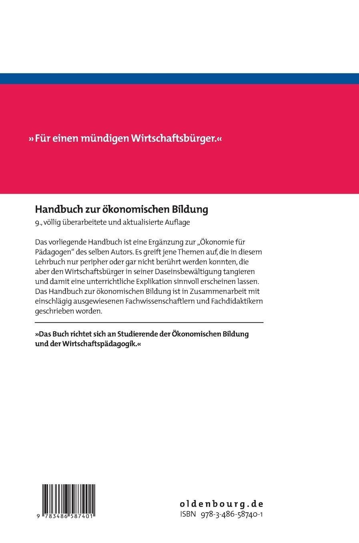 Handbuch zur ökonomischen Bildung - Hermann May, Ulla May - Amazon.de:  Bücher