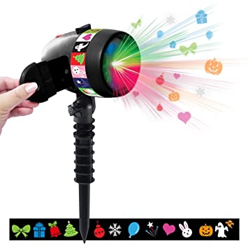 Star Shower SLIDE SHOW 12 LED Motivkombis bewegt oder fixiert Easy ...
