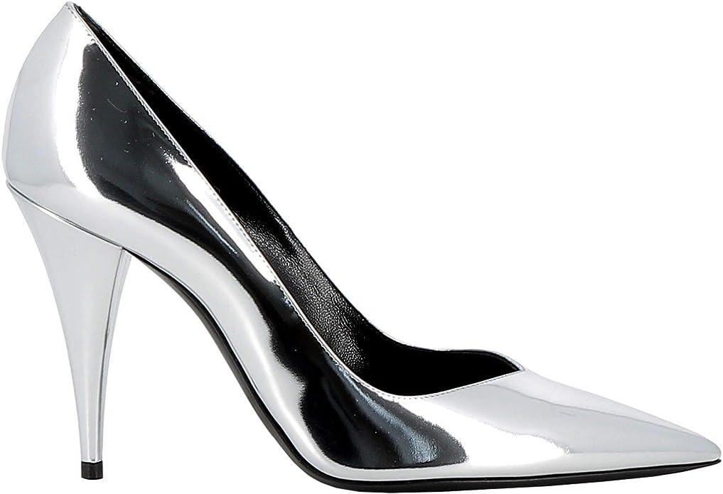 Saint Laurent Luxury Fashion Womens Pumps Winter Silver
