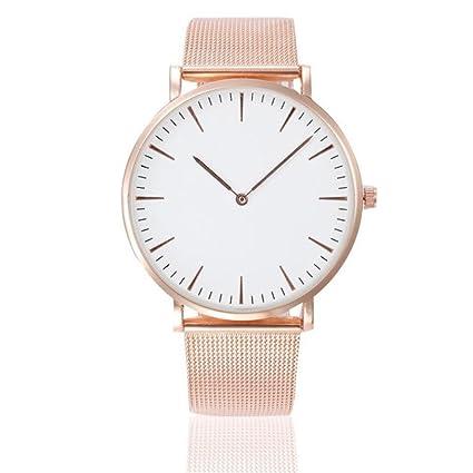 Reloj de pulsera de Pareja ❤ Amlaiworld Moda Relojes niña Reloj de pulsera clásico para ...