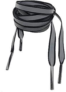 a1094001 Reflective Rope Shoe Laces - Flash (Black/3M): Amazon.co.uk: Shoes ...