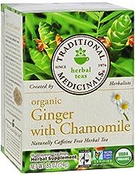 Traditional Medicinals Tea Og1 Ginger 16 Bag