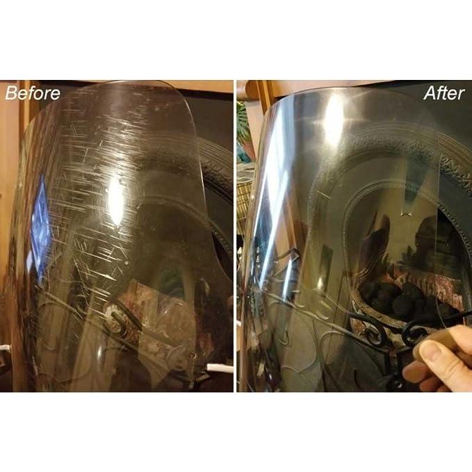Glass Polish 31011 - Juego restaurador de pegamientos para plástico y acrílico: Amazon.es: Bricolaje y herramientas