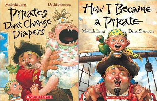 How I Became a Pirate / Pirates Don't Change Diapers (2 Book Set)