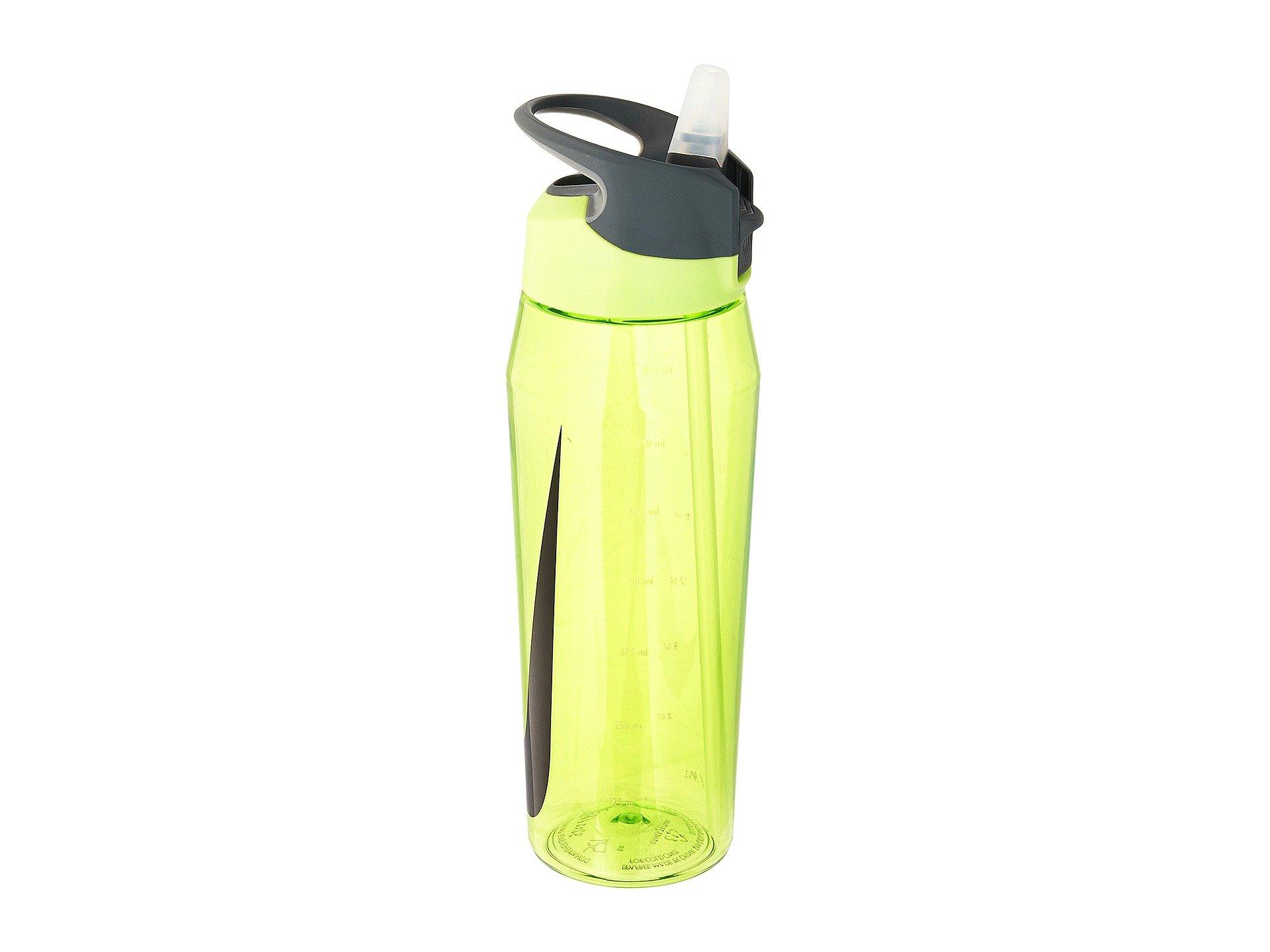 Nike  Training Hypercharge Straw Bottle 32oz Volt/Black/Black One Size by NIKE