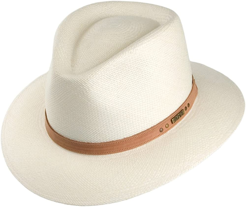 Sombrero Fedora Panamá Cordoba Safari de Signes - Natural - M ...