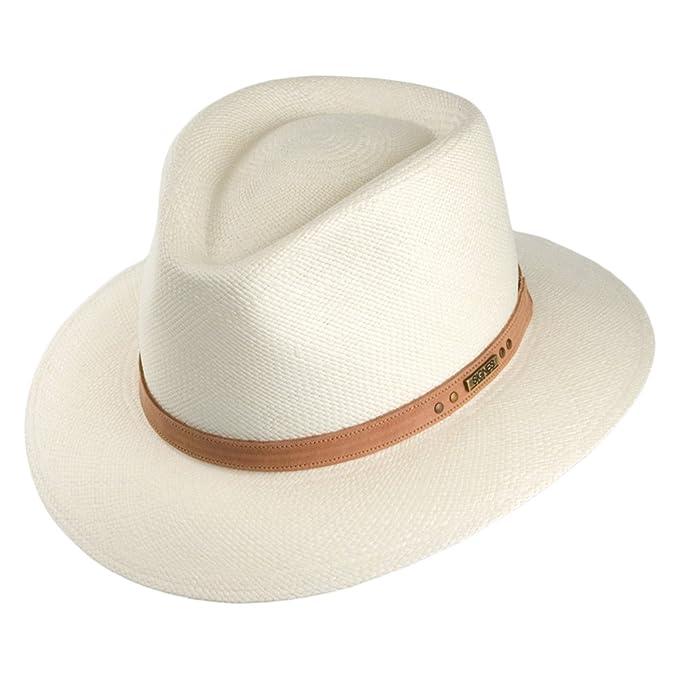 Sombrero Fedora Panamá Cordoba Safari de Signes - Natural - M  Amazon.es   Ropa y accesorios 465f6437be0