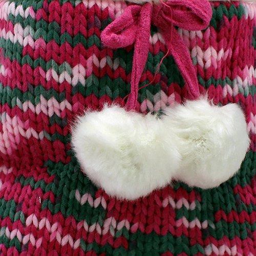 Enimay Kvinners Myke Fuzzy Huset Tøfler Komfortabel Fleece Føler Innesko Rosa 3