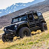 ARIES 25009 Black Aluminum Rear Jeep Wrangler JK