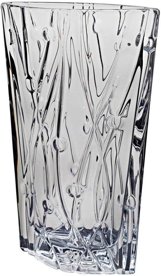 19x9,5x30,5 cm. Collezione Labyrinth ANCHO Bohemia la galaica Vaso in Cristallo