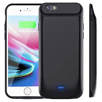 Vobon Funda Bateria iPhone 7 / 8, 5000mAh Carcasa Bateria, Externa Recargable Protector Cargador Power Bank Case para Apple iPhone 7 / 8(4,7
