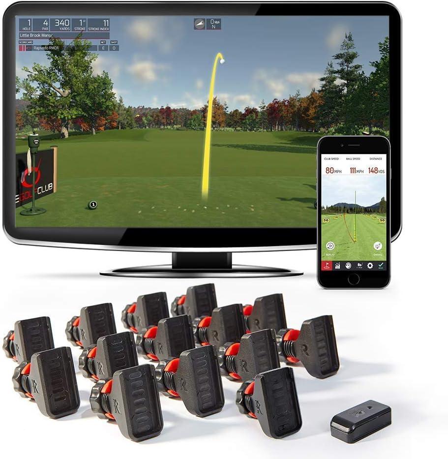 Rapsodo R-Motion et Le Simulateur de Club de Golf–Combo Package Y Compris R-Motion + 14Club pièces jointes