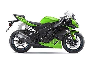 Amazon.com: 9FastMoto Adhesivo para motocicleta Kawasaki ...