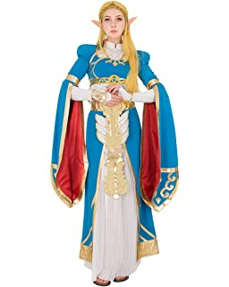 Amazon Com Miccostumes Women S Breath Wild Princess Cosplay Costume