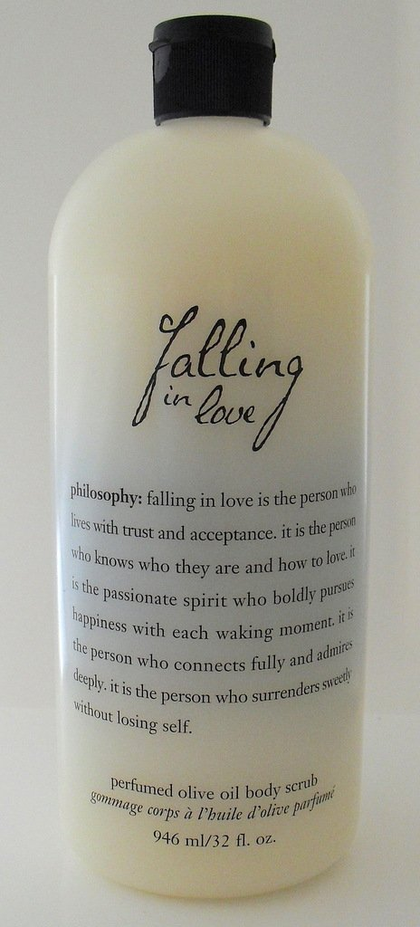 Philosophy Olive Oil Body Scrub Unconditional Love 32 Ounce