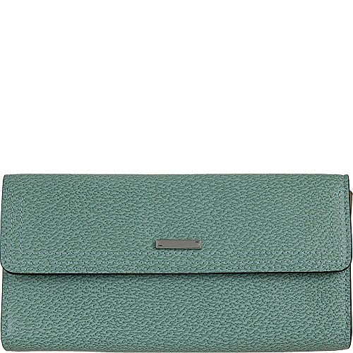 Lodis Stephanie Under Lock and Key Checkbook Clutch Wallet (One Size, Ocean) by Lodis