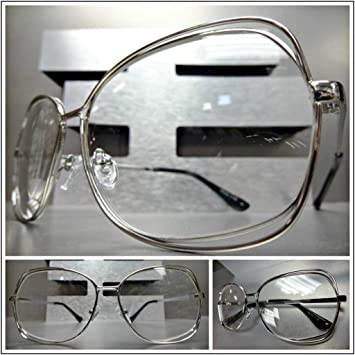 6d16bfe9f5cc Image Unavailable. Image not available for. Color  Women s Oversized  Vintage Retro Style Reading Eye Glasses ...