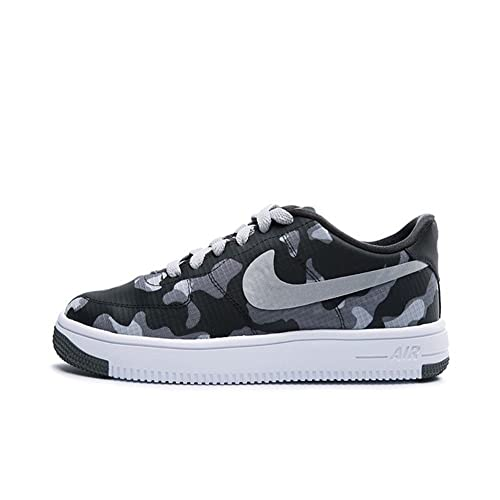 Zapatillas Nike - Air Force 1 Ultraforce Se (GS) carbón/plateado/gris talla: 37,5: Amazon.es: Zapatos y complementos
